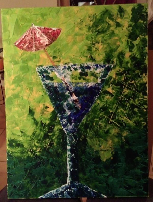 Cocktail 1, 80x60  €160